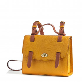 Le Candide - Mustard - Cuir Bubble