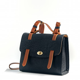 Le Candide - Black - Cuir Bubble