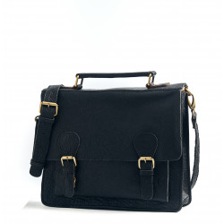 Le Téméraire (M) - Black - Cuir Bubble