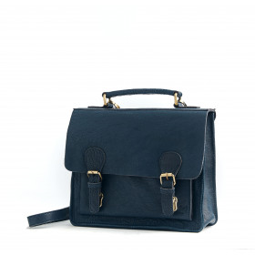 Le Téméraire (S) - Light Navy Blue - Cuir Bubble