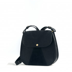 L'Orgueilleux - Black - Cuir Bubble