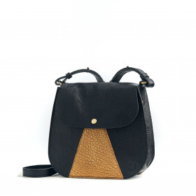 L'Orgueilleux - Black / Gold - Cuir Bubble