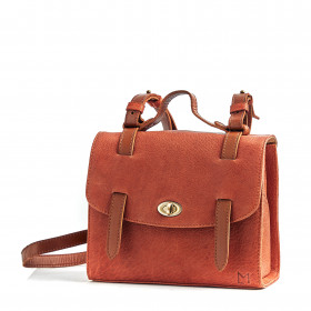 Le Candide - Terracotta - Cuir Bubble