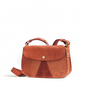 L'Insolent - Terracotta - Cuir Bubble