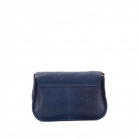 L'Insolent - Navy - Cuir Bubble