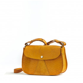 L'Insolent - Mustard - Cuir Bubble