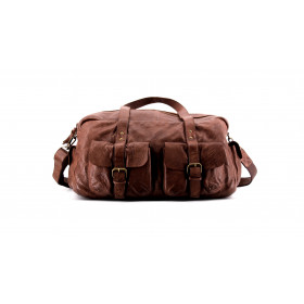 Le Nomade - Brown Choco - Cuir Wash