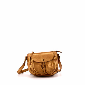Le Docile - Gold - Cuir Wash