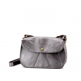 L'Insolent - Silver - Cuir Bubble