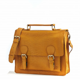 Le Téméraire (M) - Mustard - Bubble Leather