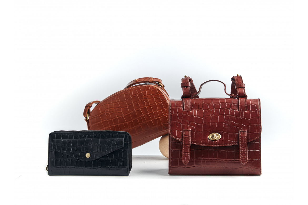 Croco leather, winter trend